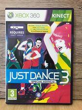 Xbox360 Kinect Just Dance 3 Juego Con Caja Y Manual