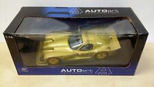 AUTOart PANOZ ESPERANTE GTR-1 Brand New 1:18 gold 1998 STREET CAR