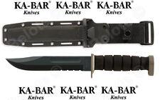 Ka-Bar Knives D2 Extreme Serrated + KaBar Plastic Sheath 1282