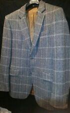 Beautiful Burberry London Wool Plaid Collar Blazer Jacket Size 42