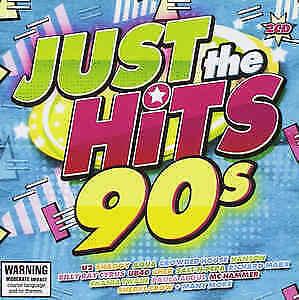 JUST THE HITS 90s 2CD NEW U2 Shaggy Aqua Hanson UB40 Cher Salt-n-Pepa Live