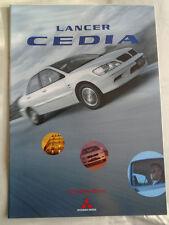 Mitsubishi Lancer Cedia range brochure 2005 Japanese text