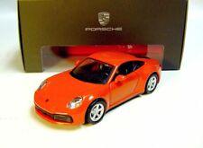 1:43 MAISTO 2019 PORSCHE 911 992 Carrera 4S Coupe lava orange NEW DEALER PROMO !
