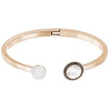 8a8f19858 Swarovski Crystal Hote Bangle Gray Rose Gold Plating 5352500 Size M