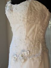 Brand New with Tags Designer Wedding Dress Bridal Gown Tulle FREE OZ SHIPPING