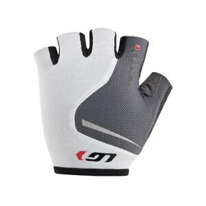 Louis Garneau Women's Flare Cycling Gloves White / Gray Small