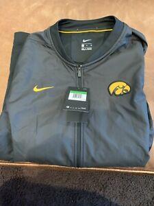 nike iowa hawkeyes MELITE Jacket XL New With Tags