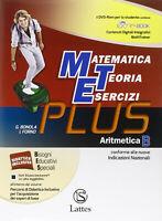 Matematica teoria esercizi Plus + DVD e-book espansione online Vol 2 ARITMETICA