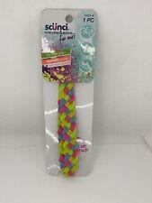 Scunci Everyday & Active No Slip Grip Pastel Rainbow Sport Headband Braid Design