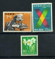 Giappone 1966 Mi. 951-952 Nuovo ** 100% Tokyo. Fiori 1976 Natura