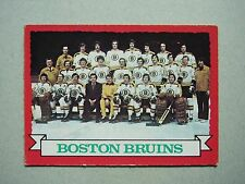 1973/74 O-PEE-CHEE HOCKEY CARD 93 BOSTON BRUINS PHOTO BOBBY ORR EXNM SHARP!! OPC