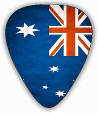 10 Australian ~ OZ~ Flag ~ Guitar Picks ~ Printed Both Sides