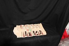 """9"""" Backgammon leather roll up Portable TRAVEL Camping Hiking SPORT-DESIGN"""