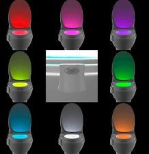 Light Sensitive Automatic LED Toilet Nightlight Motion Sensor Lamp for AnyToilet