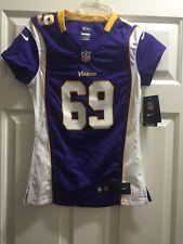 Nike Jared Allen #69 Purple Jersey Minnesota Vikings NFL Game Jersey XS only 1