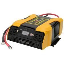 Car Power Inverter 2000 Watt 4 AC 2 USB APP Bluetooth 30amp 115V Electric Switch
