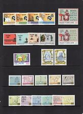VATICAN CITY 1981 NH Complete Year Set Scott: 681-704 - Free USA Shipping