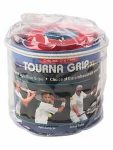 TOURNA GRIP ORIGINAL XL 30 PACK REEL. TENNIS / RACQUET SPORTS. + FINISHING TAPE