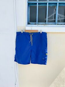 Polo by Ralph Lauren Royal Blue and Yellow Board Shorts