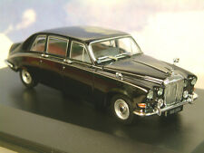 Excelente Oxford Diecast 1/43 Daimler Ds420 Ds 420 Limusina en Negro Ds006