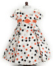 "Doll Clothes AG 18"" Dress Polka Dot Carpatina Fits Maryellen American Girl Dolls"