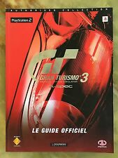GRAN TURISMO 3 PS2 GUIDE OFFICIEL 2001 MAGAZINE JEUX VIDEO NINTENDO PLAYSTATION