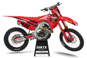 NEW DIRTX INDUSTRIES HONDA FACTORY GP COMPLETE GRAPHICS CR CRF 125 150 250 450