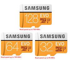 Samsung EVO 32 GB 64 GB 128 GB Micro SD SDHC SDXC Klasse 10 UHS-I Speicherkarte