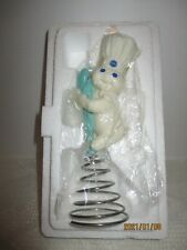 "Danbury Mint Pillsbury Doughboy Figurine ""Springing into Action 2002 Nib Db3004"