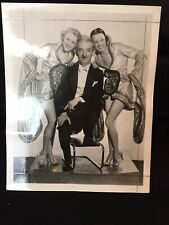 Harry Blackstone Sr. Magician original press photo 8x10