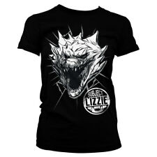 Officially Licensed Rampage - Subject Lizzie Women's T-Shirt S-XXL Sizes (Black)