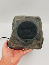 """OSD Audio RX550 100W Outdoor Rock Speaker Pair - 8"""" Tall - Granite Look"""
