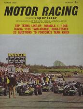 Motor Racing Magazine 03/1968 Vol.15, No.3