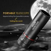 1xMini Portable Zoom Scope 30x25 Monocular Telescope For Travel Hunting T8W5