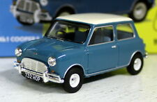 Vanguards 1/43 Scale VA05808 Austin Mini Mk1 Cooper S Surf Blu Diecast model car