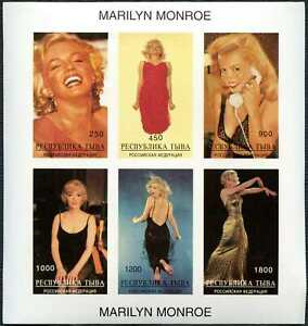 Russian State, Marilyn Monroe, Film Star, MNH Imperf M/S #M130