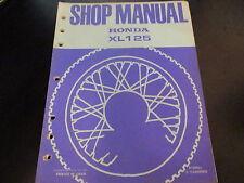 Vintage Honda OEM Shop Manual 1973 XL125 XL 125