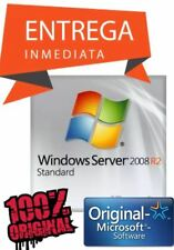 Licencia Key Microsoft Windows Server 2008 R2 Standard Genuina Permanente