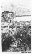 FORBES HOME ON TELEGRAPH HILL ETCHING JOHN W. WINKLER, MASTER ETCHER