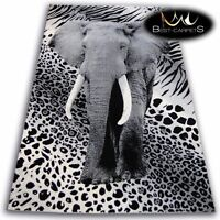 ORIGINAL ANIMAL THEME CARPETS 'FLASH' ELEPHANT Print Area CHEAP Rugs Carpet