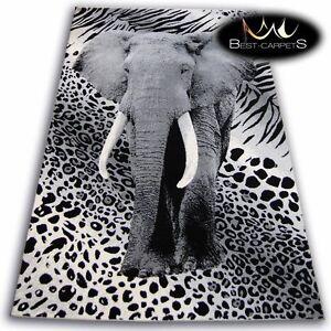 ORIGINAL ANIMAL THEME CARPETS 'FLASH' ELEPHANT Print Area CHEAP Rugs Carpet