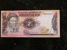 New listing Swaziland 2 Emalangeni ( 1974 ) Banknote
