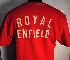 T-SHIRT ROYAL ENFIELD ROSSO TAGLIA L