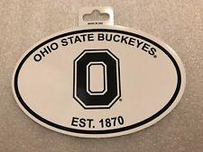 NCAA Ohio State Buckeyes Multi-Use Team Logo Oval Decal Sticker Tailgate Car