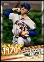 Tom Seaver 2020 Topps Decade's Best Series 2 5x7 #DB-38 /49 Mets