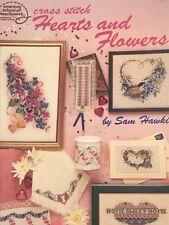 Cross Stitch Hearts and Flowers book - Sam Hawkins American School of Needlework