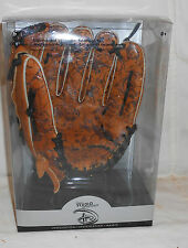 DISNEY STORE RIGHT HANDED 11 INCH BASEBALL GLOVE NIB WITH MISC. CHARACTER FACES