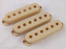 Vintage relic âgés de porté blanc ramasser couvre 52mm to fit Stratocaster Guitares