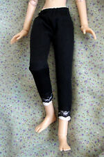 "Black - white LEGGINGS  Outfit  for 16"" Tonner Ellowyne, BJD, ADG Delilah Noir"
