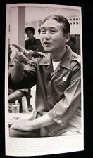 CAMBODIAN PREMIER LON NOL   PHOTO1972 #7018